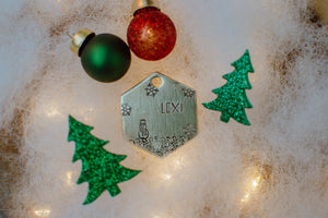 Frosty the Snowman ID Tag