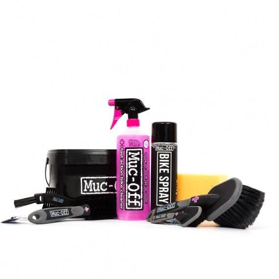 Muc-Off 8 in 1 Bike Cleaning Kit - Kombopakke til Sykkelvask
