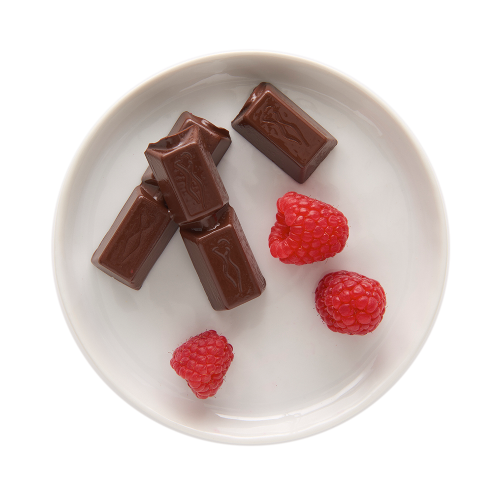 Raspberry Chocolate Bars