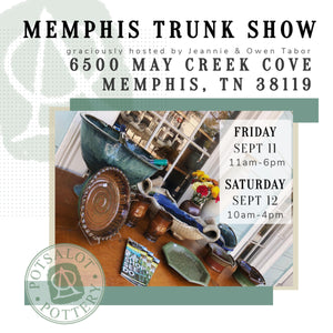 Memphis Trunk Show - Sept 11 & 12
