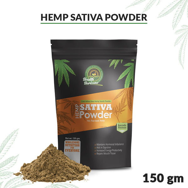 Ayurvedic Sativa Hemp Protein Powder – 150gm