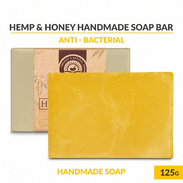 Health Horizon's Hemp and Honey – Handmade Soap - Hemp Horizons Pvt. Ltd - hempistani