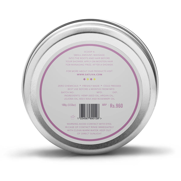 Satliva Argan Rosemary Hair Cream