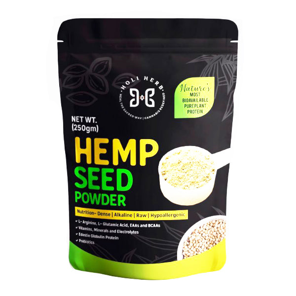 Holi Herb's Hemp seed Powder 250 gm