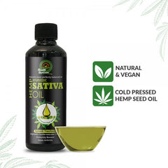 Ayurvedic Sativa Hemp Seed Oil 200ml