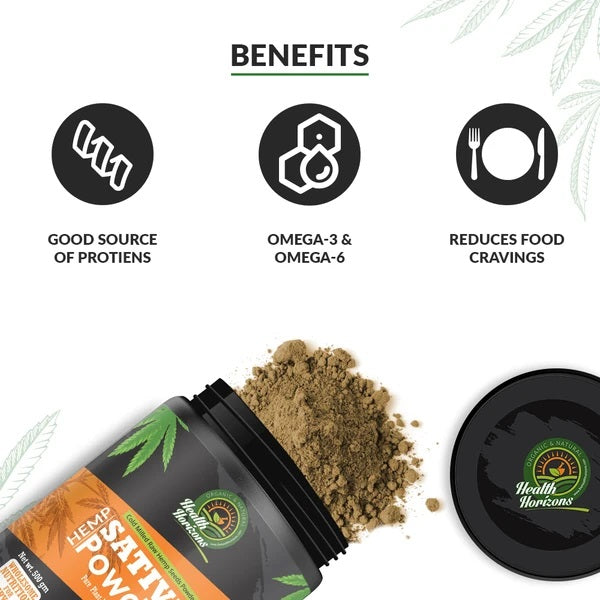Ayurvedic Sativa Hemp Protein Powder