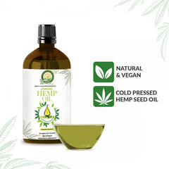 Ayurvedic Hemp Seed Oil |Skin & Hair| 100ml - Hemp Horizons Pvt. Ltd - hempistani