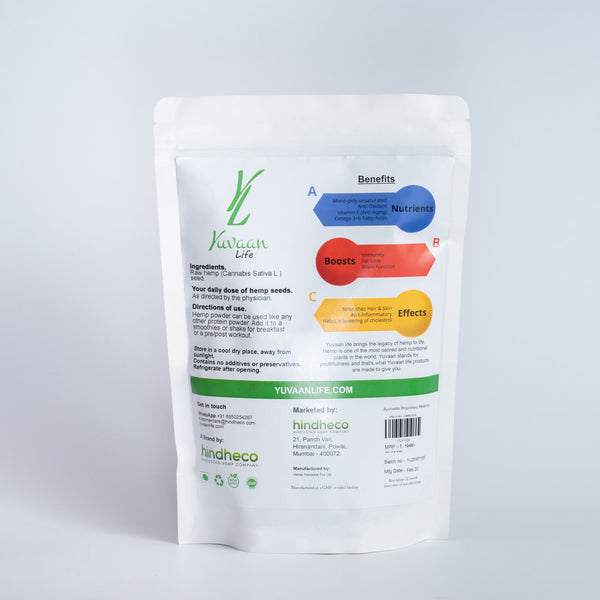 Yuvaan Life's Hemp Powder – 500g