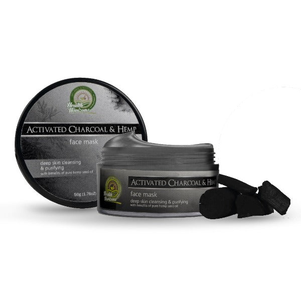 Health Horizon's Activated Charcoal and Hemp Face Mask - Hemp Horizons Pvt. Ltd - hempistani