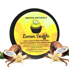 Amayra Naturals Body Butter (Lemon & Vanilla)
