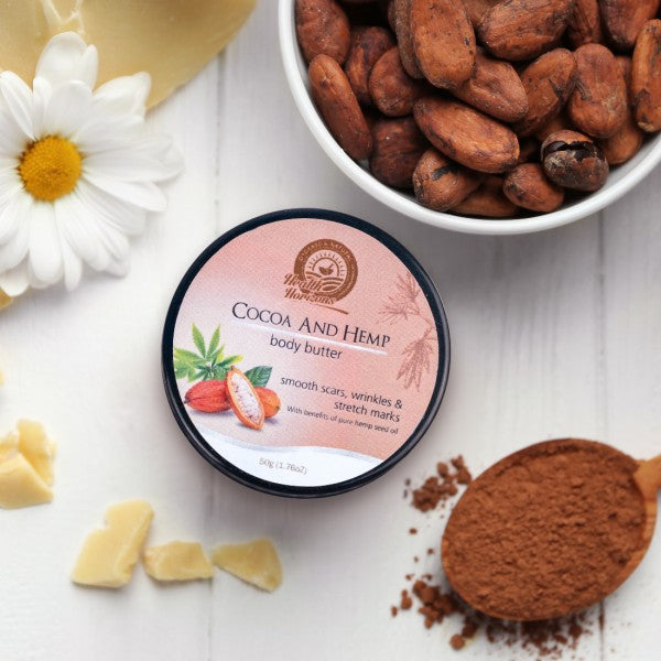 Health Horizon's Cocoa and Hemp Body Butter Cream - Hemp Horizons Pvt. Ltd - hempistani