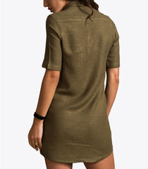 Foxxy's Sporty Hemp Shirt Dress
