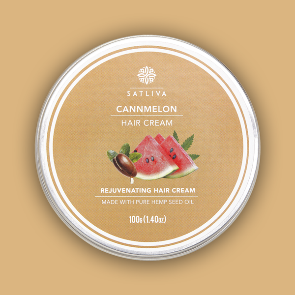 Cannmelon Hair Cream 100g - Satliva - hempistani