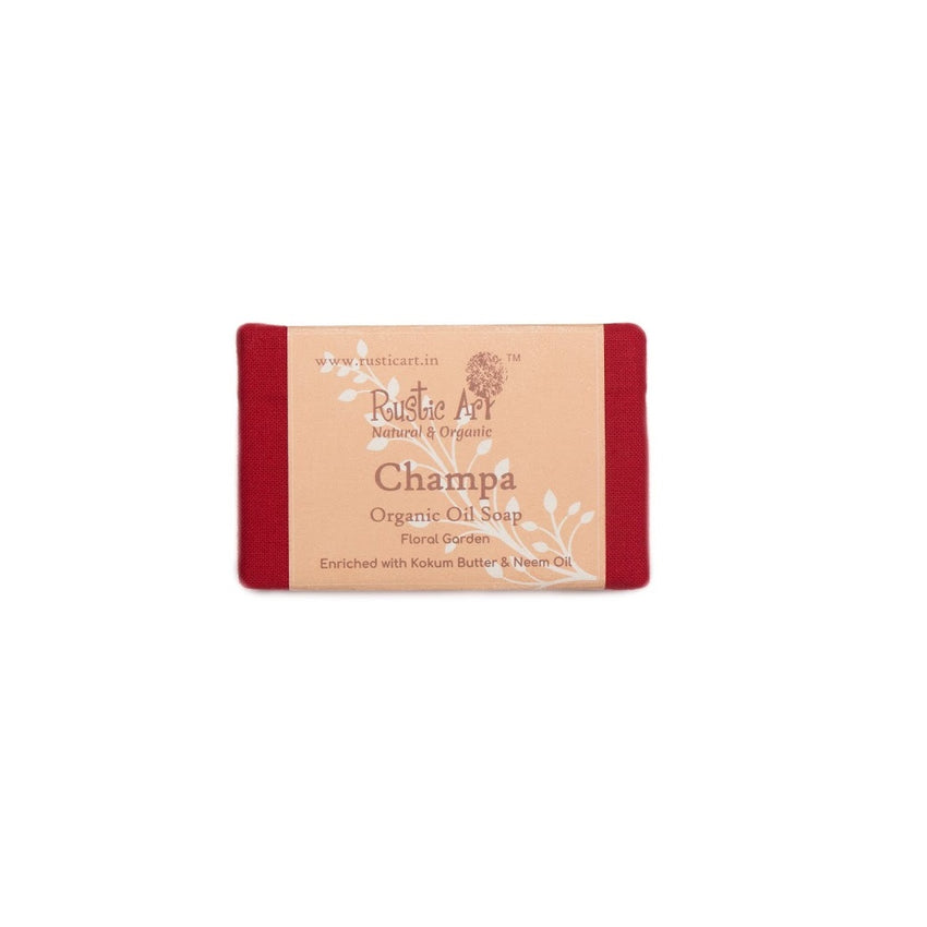 Rustic Art Champa Soap