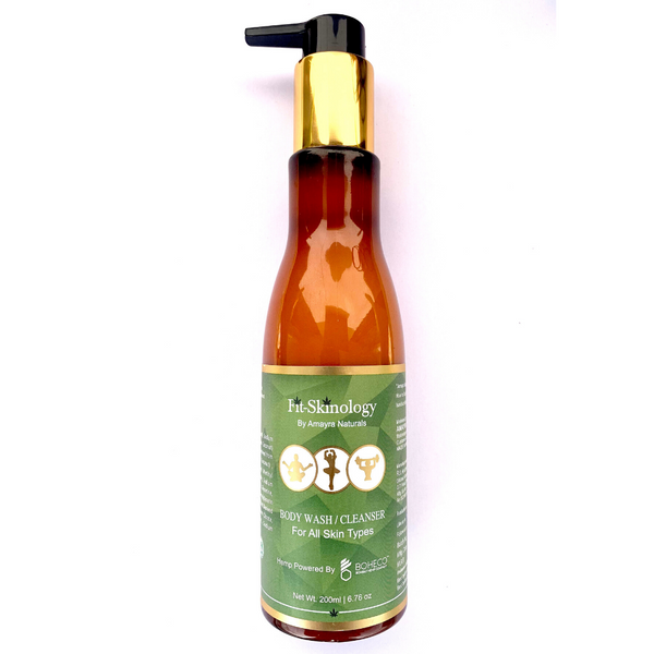 Amayra Naturals Fit Skinology Hemp Body Wash