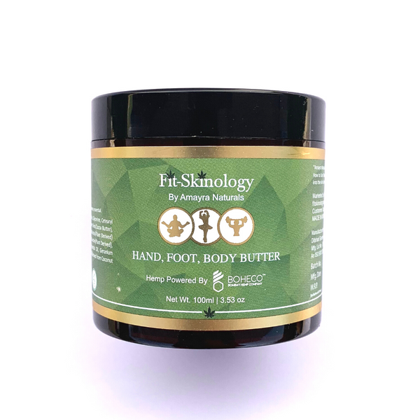 Amayra Naturals Fit Skinology Hemp Body Butter