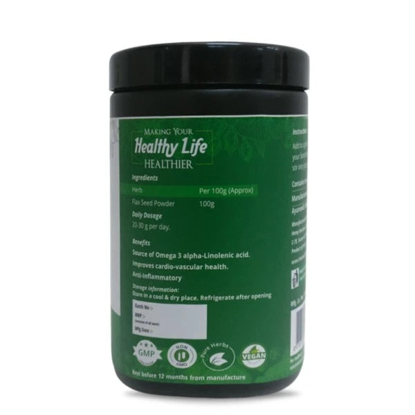 Ayurvedic Raw Flax Seed Powder