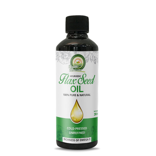 Ayurvedic Flax Seed Oil (200ml) - Hemp Horizons Pvt. Ltd - hempistani