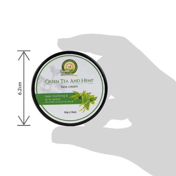 Health Horizon's Green Tea and Hemp Face Cream - Hemp Horizons Pvt. Ltd - hempistani