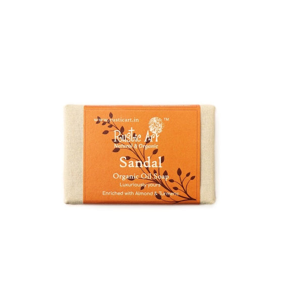 Rustic Art Sandal Soap