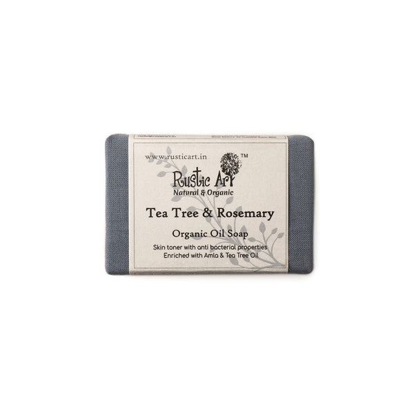 Rustic Art Tea Tree Rosemary Soap
