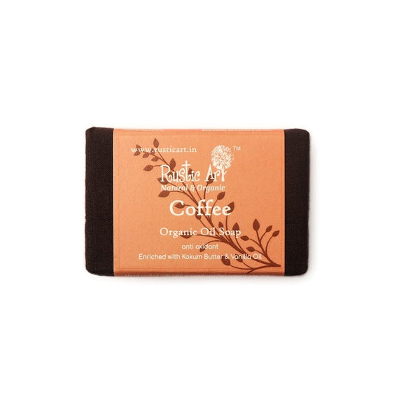 Rustic Art Coffee Soap