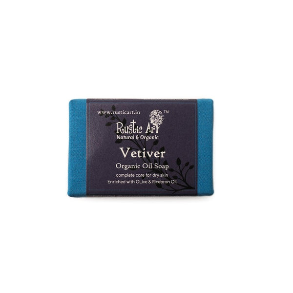 Rustic Art Vetiver Soap