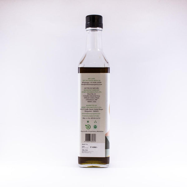 India Hemp Organics Hemp Seed Oil - India Hemp Organics - hempistani