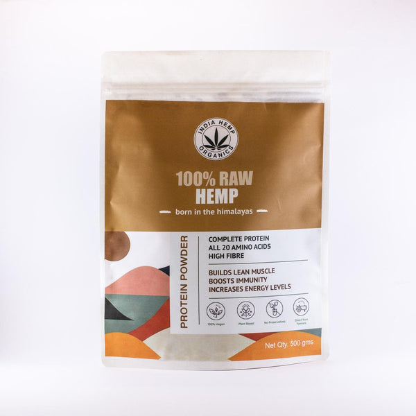 India Hemp Organics Hemp Protein Powder - India Hemp Organics - hempistani