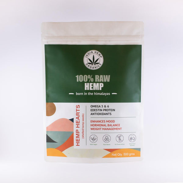 India Hemp Organics Hemp Hearts - India Hemp Organics - hempistani