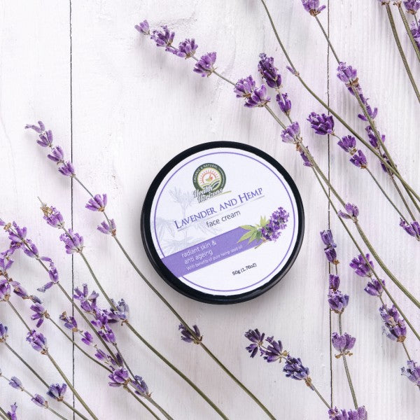 Health Horizon's Lavender and Hemp Face Cream - Hemp Horizons Pvt. Ltd - hempistani