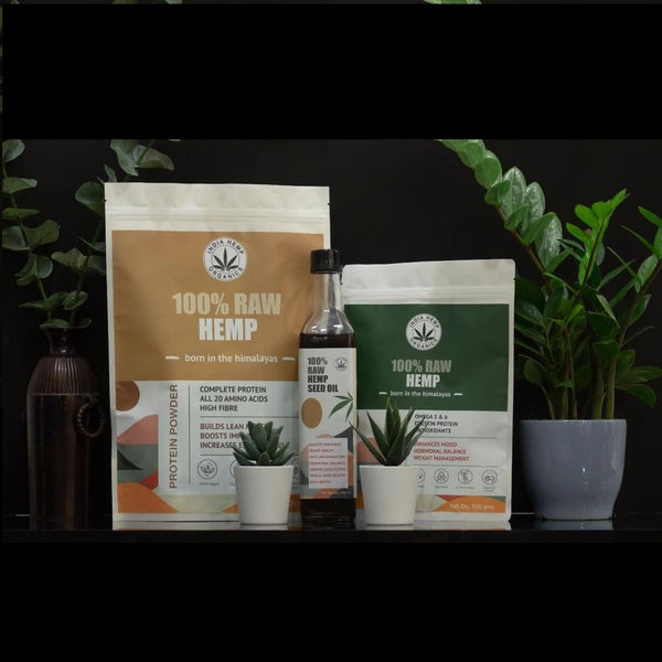 India Hemp Organics Mega Value pack