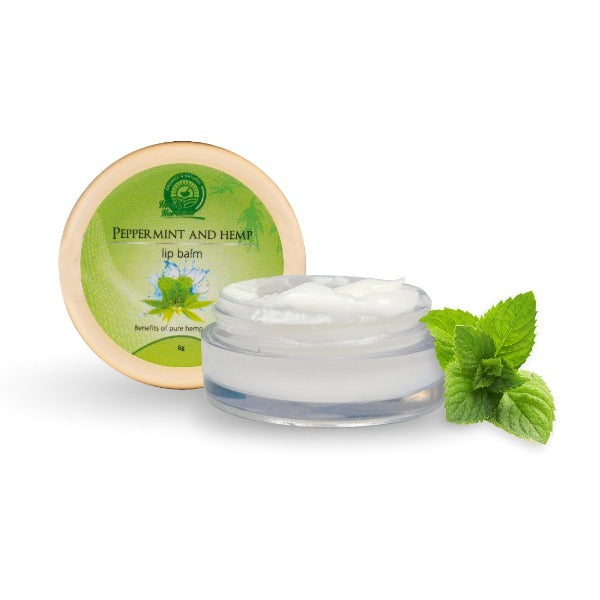 Health Horizon's Peppermint and Hemp Lip Balm