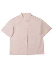 Foxxy's Pink Hemp Boxxy Shirt - FOXXY COUTURE PRIVATE LIMITED - hempistani