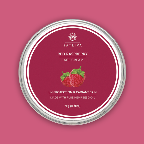 Satliva Red Raspberry Face Cream - Satliva - hempistani