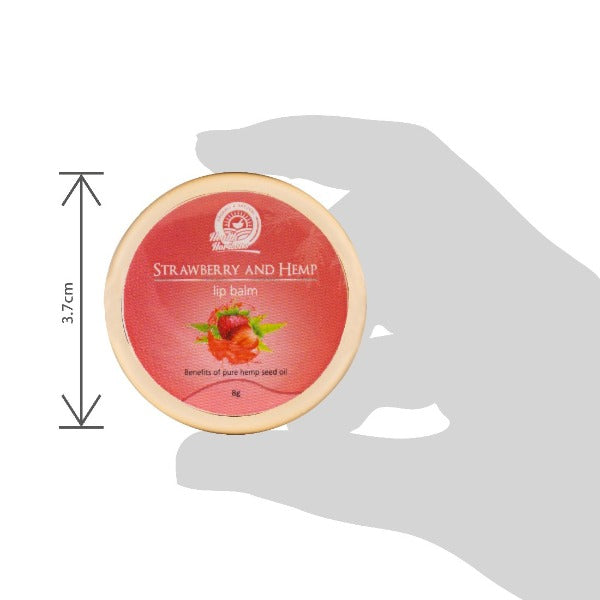 Health Horizon's Strawberry and Hemp Lip Balm - Hemp Horizons Pvt. Ltd - hempistani