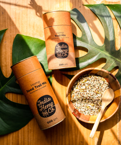 India Hemp & Co's Hemp Seed Trail Mix