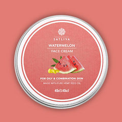 Watermelon Face Cream 40g - Satliva - hempistani