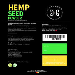 Holi Herb's Hemp seed Powder
