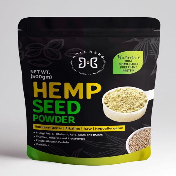 Holi Herb's Hempseed Powder 500gm