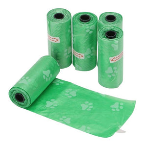 Spare Dog Waste Bags (5 Rolls 75 pcs)