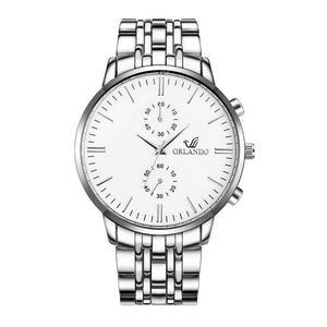 Men's 2019 Luxury Orlando Quartz Watch (Box Sold Separately)
