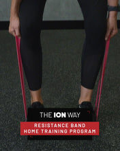 Load and play video in Gallery viewer, THE ION WAY - RESISTANCE BAND TRAINING PROGRAM