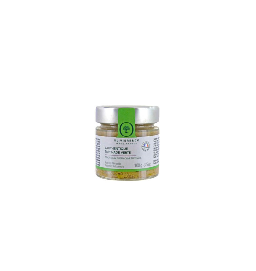 Oliviers & Co. GREEN OLIVE TAPENADE (100g)