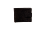 Black Antique Leather Wallet - Worldbelts Ltd