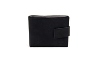Black Hunter Leather Wallet - Worldbelts Ltd