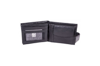 Black Real leather Wallet