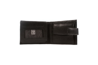 Black Soft Leather Wallet - Worldbelts Ltd