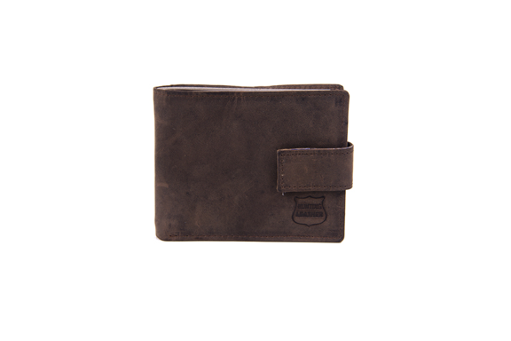 Brown Hunter Leather Wallet - Worldbelts Ltd