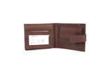 Brown London Leather Wallet - Worldbelts Ltd